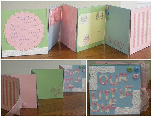 Mini Baby Book