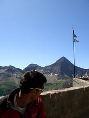a proud Italian flag (axc) Tags: italy valdaosta viaferrata refugiomonzino