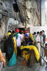 Shiva Temple (brightasafig) Tags: india yellow temple religion devotion cave spirituality shiva siva rajasthan stiritual