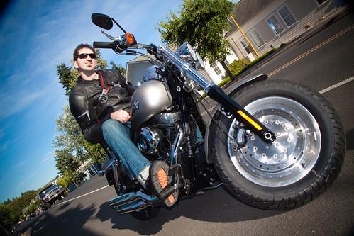 Harley Davidson Portland >> Fat Bob Squadron: Mid-Controls or Forward Controls? Happy? - Page 5 - Harley Davidson Forums