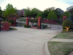 gated entrance in Edmond, OK (by: Wesley Fryer, creative commons license)