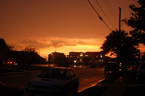 Sunset during Thunderstorm!