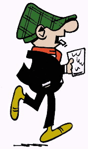 Andy Capp: Everybodys favorite cartoon drunk...next to Barney from the Simpsons of course