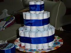 Diaper Cake - Step 5