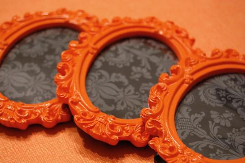 orange frames