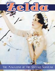 Zelda Magazine Postcard
