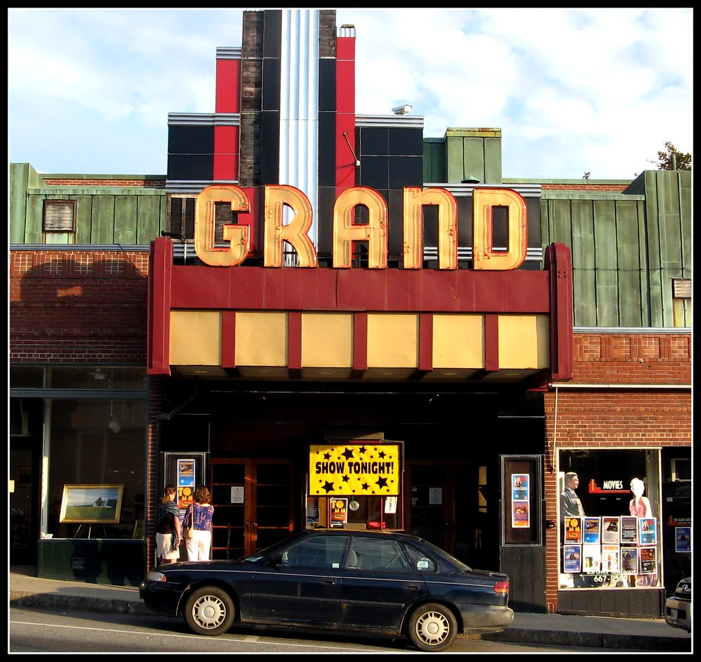 Grand Theater in Ellsworth, Maine