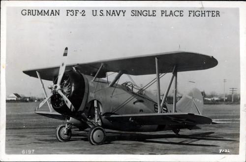 Warbird picture - Grumman F3F-2 biwing