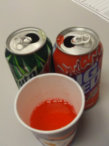 Big Red and Mountain Dew