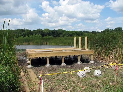 Viewing platform construction