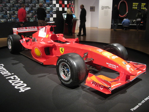 Formula 1 Exhibit at Te Papa