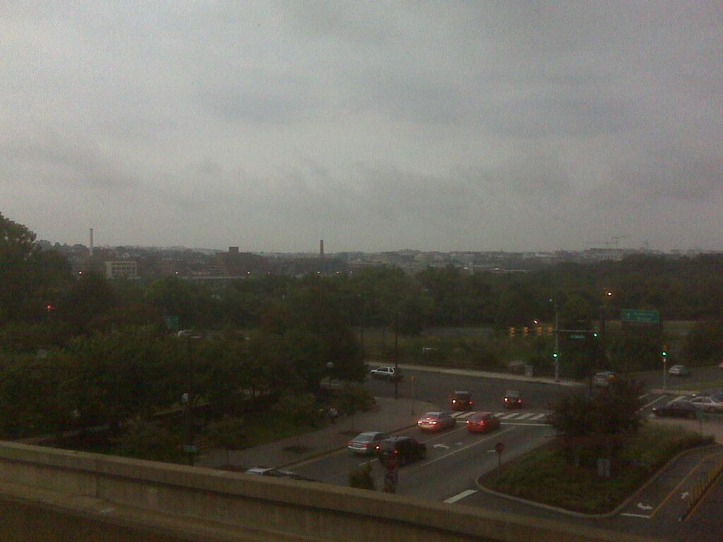D.C. skyline, Rosslyn VA view