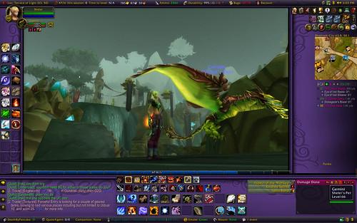 world of warcraft blood elf. WoW Blood Elf Huntressmy