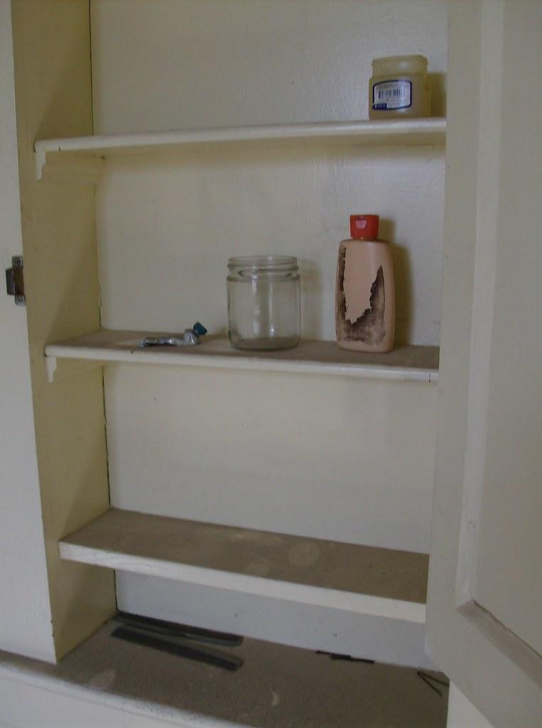 Uniontown Farmhouse, Bath Cabinet