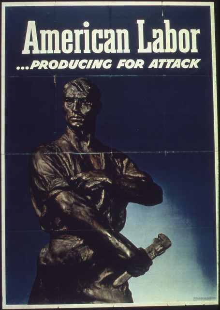 quotAmerican Labor -- Producing for Attackquot 1942 - 1945 by The US National Archives