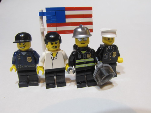Lego remebers sept 11th