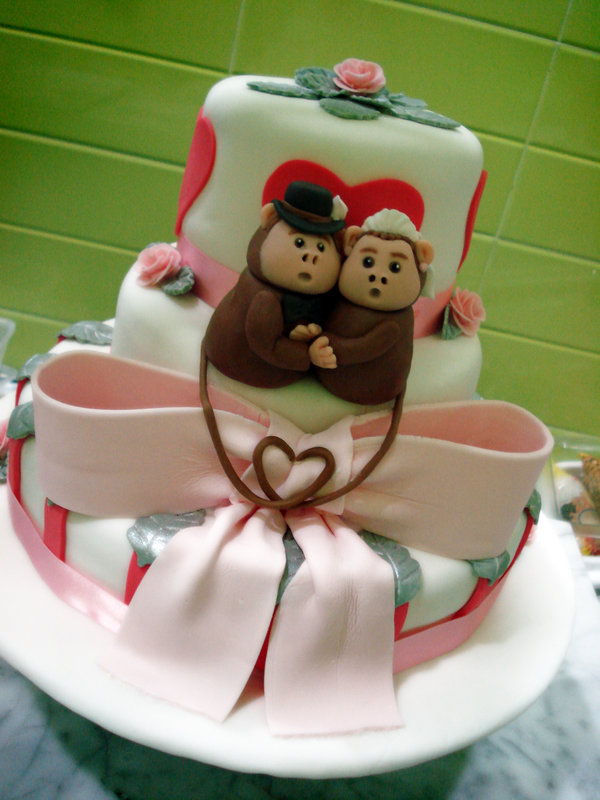 12_Monkey_Wedding_Cake_by_Sliceofcake