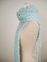 Soft Mint Lace Scarf (phydeaux designs) Tags: soft fuzzy fallautumn phydeaux mohairblend phydeauxdesigns accessoryaccessories scarfscarfsscarves knittingknitknitted