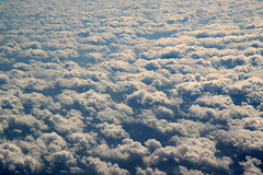 Sea of clouds... (Audiotribe) Tags: above sky color colour art clouds canon eos flying heaven nuvole skies fluffy himmel wolken nubes nuages airborne skyer jetliner littlefluffyclouds  jetline otw feelsgood  sooc  400d  skyascanvas 800kmh