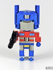 CubeDudes Optimus Prime