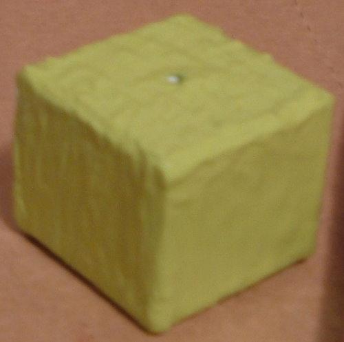 Green Paint Cube