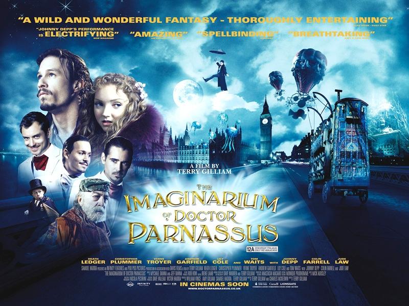 poster El Imaginarium del Doctor Parnassus
