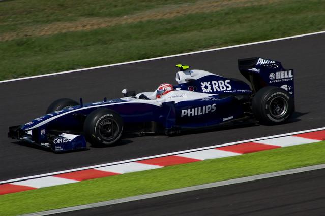Kazuki Nakajima - Williams Toyota FW31