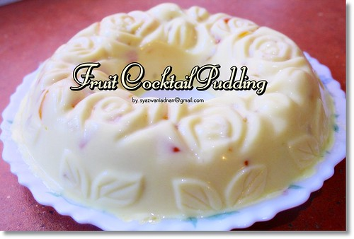 Fruit Cocktail Pudding