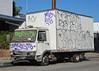 Iveco (So Cal Metro) Tags: abandoned truck graffiti la losangeles delivery coe iveco deliverytruck cabover