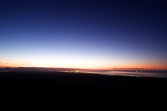 苫小牧の夜明け