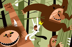 Where the Wild Things Are (Pablo Lobato) Tags: new wild illustration maurice pablo things where spike ilustracion sendak yorker jonze lobato lobaton