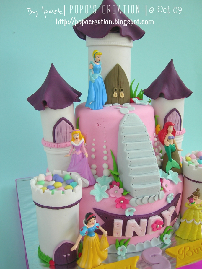 princess cake for INDY