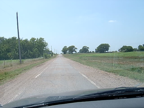 Sidewalk Highway Portion of Route 66
