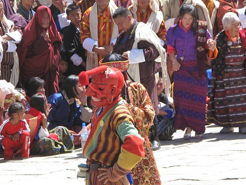 Thimphu festival photo
