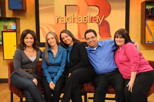 Mike reunites with family on the Rachael Ray show