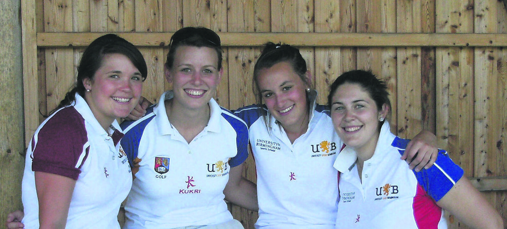The dream team (from left to right): Charlotte, Lauren, Lucy and Sian