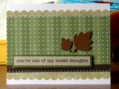 You're One of My Nicest Thoughts Card