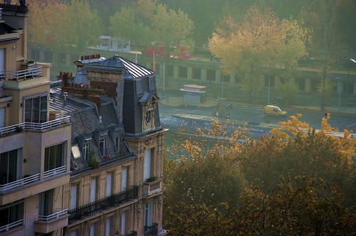 Paris, les toits vus du Trocadéro 3