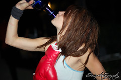 boxer girl (kasey stokes photography) Tags: costumes ladies girls party people funny faces drinks halloweenphotos whitegirls stokesup stokesphotos stokesphotography