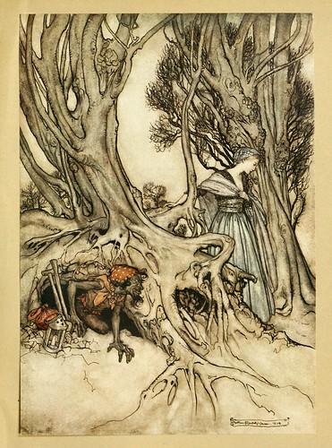 009-Comus de John Milton-ilustrada por Rackham 1921