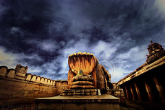 Multi-hooded Naga @ Lepakshi (Light and Life -Murali ) Tags: india architecture temple ancient god snake processing 1020mm karnataka hindu pp 10mm lepakshi 5head img2868p1sc karnatakaspecial