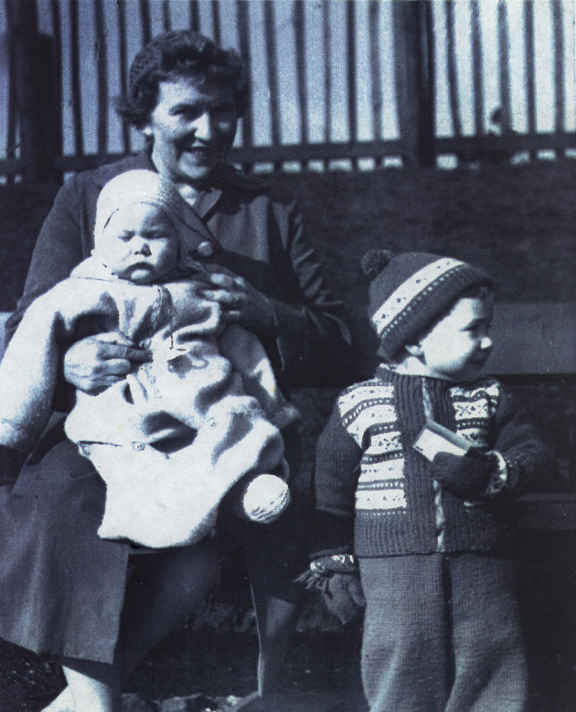 Agnes, MIchael & Jim McGraw 1959