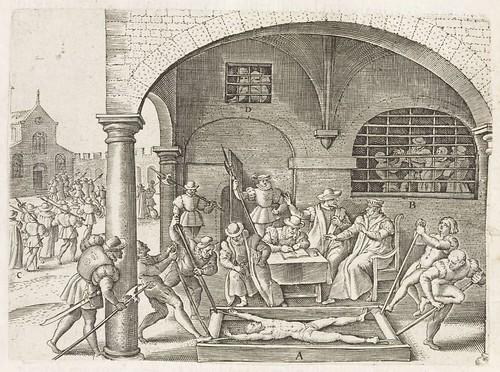 Persecutiones adversus Catholicos à Protestantibus Caluinistis excitae in Anglia a