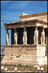 "ATENAS (""(freddy)"") Tags: blancoynegro azul blackwhite bn greece grecia atenas acropolis columnas"