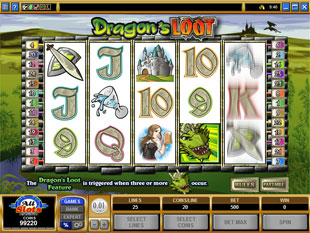 Dragon's Loot slot game online review