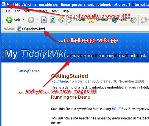 tiddlywiki mhtml images (by mahemoff)