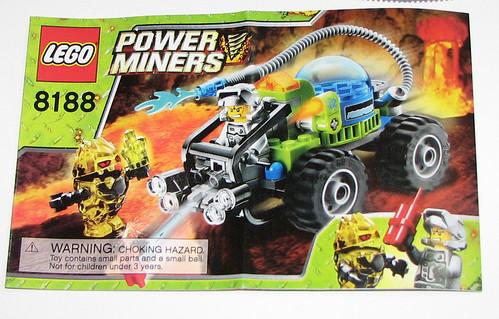2010 LEGO 8188 Fire Blaster - Instructions