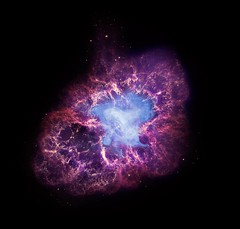 Crab Nebula: Energy for 100,000 Suns (NASA, Chandra, 11/23/09) (NASA's Marshall Space Flight Center) Tags: nasa astronomy supernova crabnebula chandra hubble spitzer xraytelescope neutronstar chandraxrayobservatory