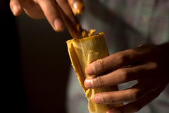 packin' a tamale (jofus) Tags: food tamales