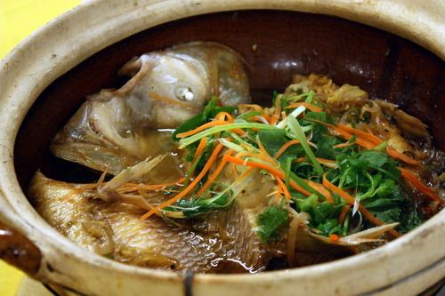 Ken Well Seafood Restaurant Claypot FIsh
